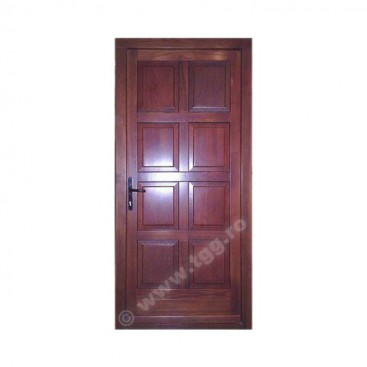 Usa de exterior din Stejar Triplustratificat, mahon, EST-036