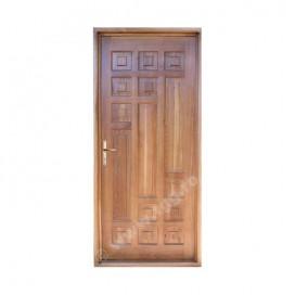 Usa de exterior din Stejar Masiv, tek, plina, apartament, ESM-002